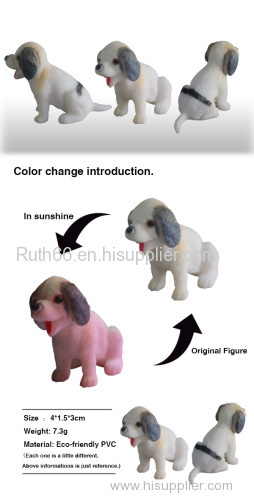 Hottest sales Color change plastic dog toys wholesale China