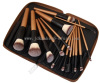 15pcs portable and professional high quality cosmetic brush set