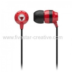 New Skullcandy Ink'd 2.0 NBA Chicago Bulls In Ear Earphones Bulls Red