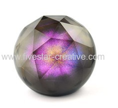 Portable Luxury Mini Crystal Magic Color Ball Hi-Fi Stereo Bluetooth Speaker Supports TF Card Slot Function