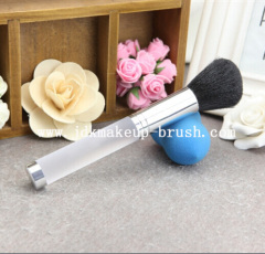 Frosted handle powder brush