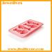 silicone fish bone ice cube mold