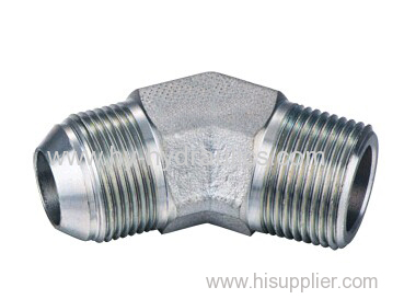 45° Elbow JIC 74°cone/ BSPT male Adapters 1JT4-SP