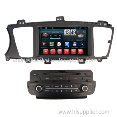 OEM Manufacturer Android 4.2 Car DVD Navigation Player KIA K7 Car Origial Radio System Bluetooth