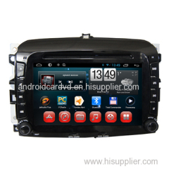 Export Car Touchscreen DVD Player Fiat 500 Central Radio Navigation Android 6.0 System wtih Wifi