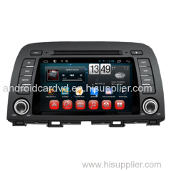 OEM Pure Android 2 Din Car Stereo Player Mazda6 2014 / CX-5 Support DVD GPS Radio TV Bluetooth Multimedia System