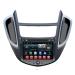 Factory Auto Entertainment System Chevrolet Trax 2014 Built In Car DVD Players Radio GPS / Glonass Navigation