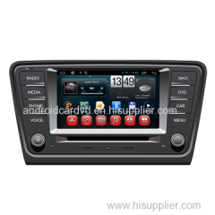 Wholesale Android Car Stereo 2 Din DVD VCD Player VW Skoda 2014 / A7 Steering Wheel Control Support