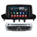 In Dash Car Media Navigation System Renault Megane 2014 / Fluence 2 Din DVD Player with Rearview Camera Input