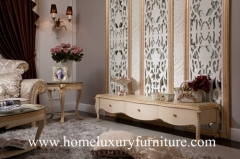 TV stand price Neo Classical Wooden Furniture living room furniture China Supplier FTV-102