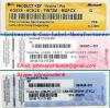 Windows 7 Pro COA Label Sticker License Key Card