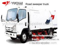 4×2 Road Sweeper 8-12T