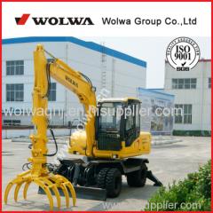 Sugarcane loader wheel excavator mini excavators used low price