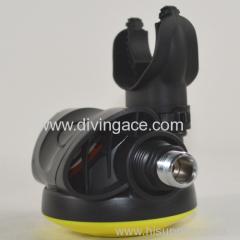 balance scuba diving regulator of second stage regulator