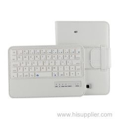 Rechargeable bluetooth keyboard for Samsung Tab 4.7inch T230/T231