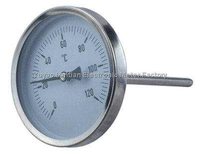 V line Industrial Thermometer