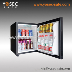Yosec C-28 absorption hotel minibar with solid door