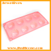 3D rose shape silicone ice cube tray