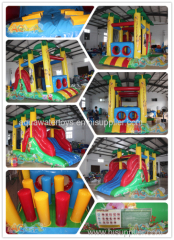 Mini jungle Inflatable Obstacle