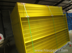 Welded Mesh Temporary interlocking fence panel
