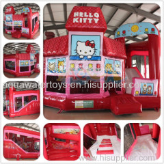 Inflatable Hello Kitty 3D 5-in-1 Combo