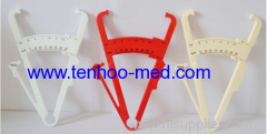 White and Red Color Body Fat Caliper
