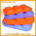 6 cavities Silicone flexible cake mold
