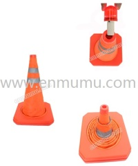 traffic cone for security