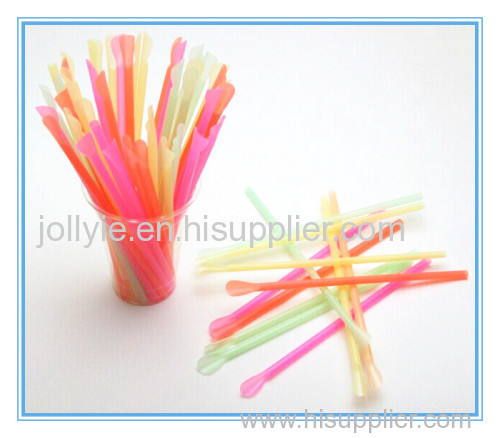high quality spoon straw match shaved ice cup