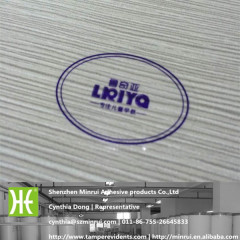 custom waterproof transparent label