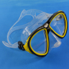 ODM protection safety freediving mask/tempered glass diving mask