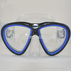 OEM spearfishing diving goggles/silicone diving mask