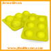 2014 New product football shape silicone ice cube tray