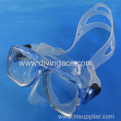 Hot selling classic face mask/diving glasses manufacturer