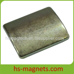 Sintered Neodymium-Iron-Boron Arc Magnets