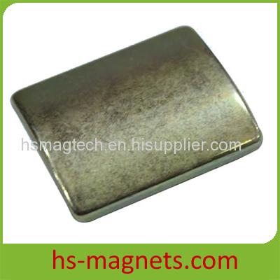 Sintered Neodymium-Iron-Boron Arc Magnets