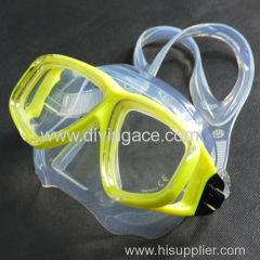 Good performance scuba diving mask/diving goggles