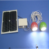 Promising DC12V Lithium batteries long lifespan high efficiency attractive solar led light kit