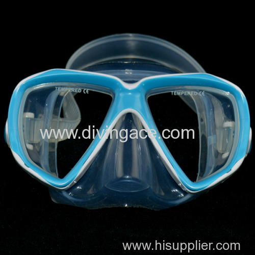 Factory price rubber diving mask/diving goggles