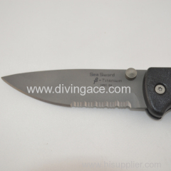 Folding HRC 50 bowie knife