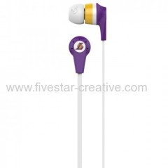 Skullcandy NBA Los Angeles Lakers Ink'd 2.0 Earbud Lakers Headphones