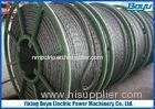Anti Twisted Galvanized Braided Steel Wire Rope for Overhead Cable Stringing 28mm