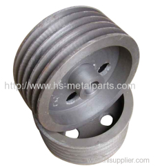 Belt pulley for large equipment