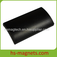 Permanent Rare Earth Segment Magnets black epoxy