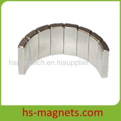Permanent segment neodymium magnet