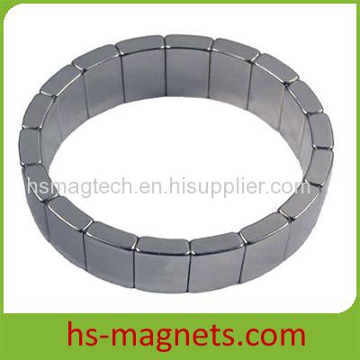 Permanent Rare Earth Segment Magnets black epoxy