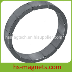 NdFeB Permanent Rare Earth Segment Magnets
