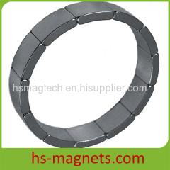 NdFeB Permanent Rare Earth Segment Magnets