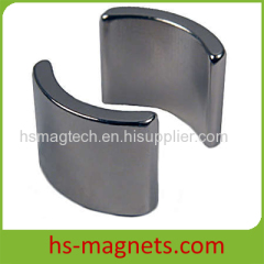 Ni-Cu-Ni coating Rare Earth Segment Magnets