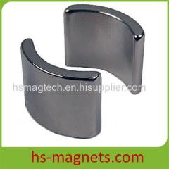 Ni-Cu-Ni coating Rare Earth Segment Magnets